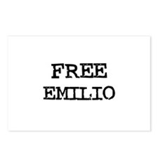 Free Emilio Postcards (Package of 8)