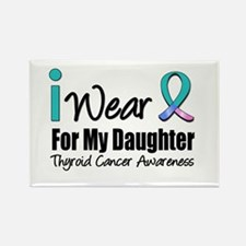 Thyroid Cancer (Daughter) Rectangle Magnet