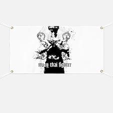 Unique Muay thai Banner