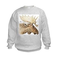 Moose Antler Head Sweatshirt