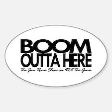 "Jim Rome ""Boom Outta Here"" Decal"