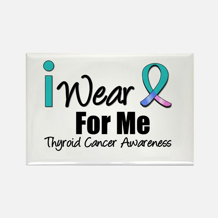 Thyroid Cancer (Me) Rectangle Magnet