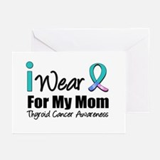 Thyroid Cancer (Mom) Greeting Cards (Pk of 10)