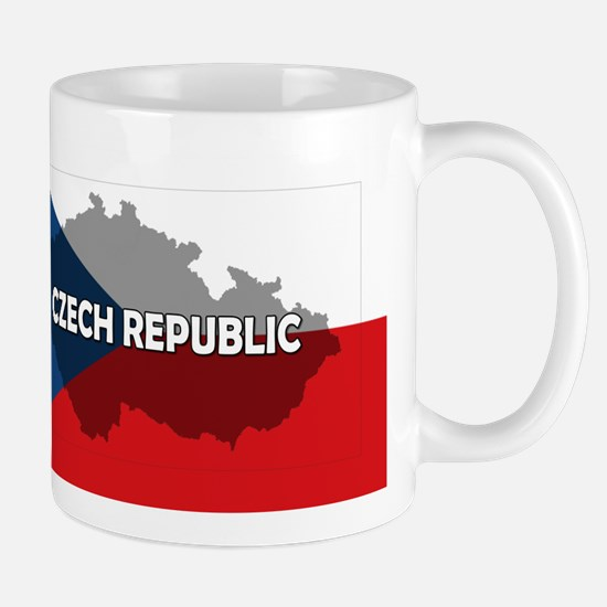 Czech Republic Flag Extra Mug
