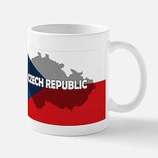 Czech Republic Flag Extra Small Small Mug