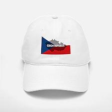 Czech Republic Flag Extra Baseball Baseball Cap