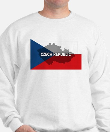 Czech Republic Flag Extra Sweatshirt