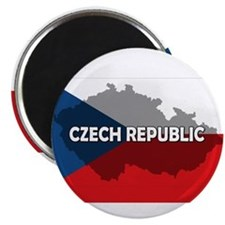 Czech Republic Flag Extra Magnet