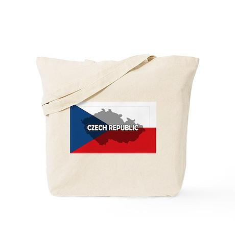 Czech Republic Flag Extra Tote Bag