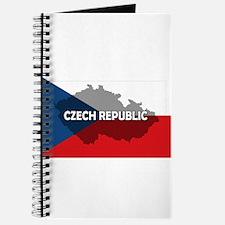 Czech Republic Flag Extra Journal