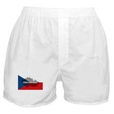 Czech Republic Flag Extra Boxer Shorts