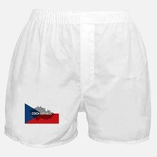 Czech Republic Flag Extra Boxer Shorts