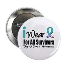 "Thyroid Cancer (Survivors) 2.25"" Button"