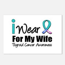 Thyroid Ribbon (Wife) Postcards (Package of 8)