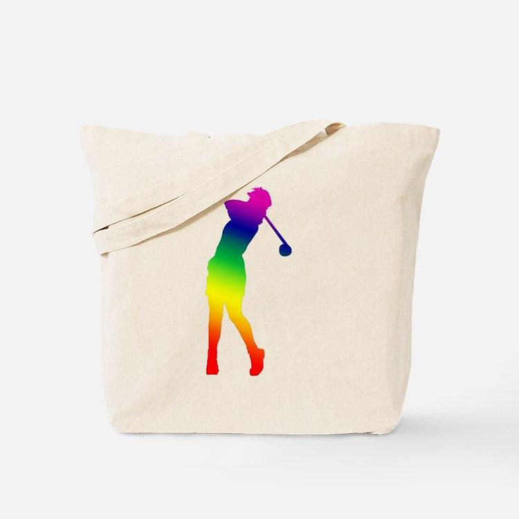 Golfer Tote Bag