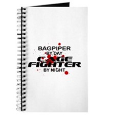 Bagpiper Cage Fighter by Night Journal