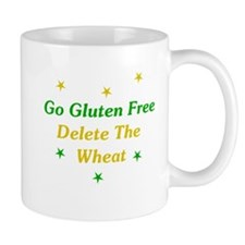 Go Gluten Free: Delete The Wheat Mug