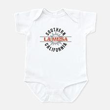 La Mesa California Infant Bodysuit