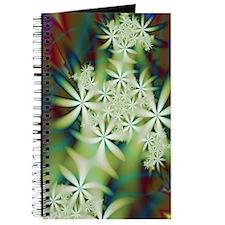 """Night Flowers 2"" Fractal Art Journal"