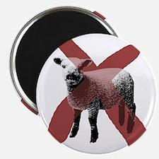 """No Sheep 2.25"""" Magnet"""