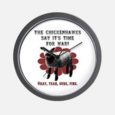 No Sheep Wall Clock