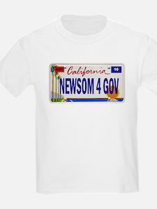 Gavin Newsom for Governor of T-Shirt