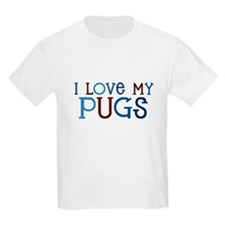 I love my Pugs T-Shirt