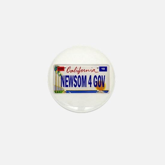 Gavin Newsom for Governor Mini Button