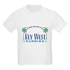 Key West Happy Place - T-Shirt