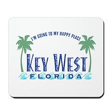 Key West Happy Place - Mousepad