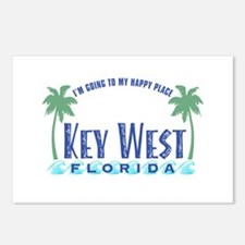 Key West Happy Place - Postcards (Package of 8)