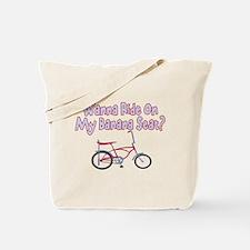 Banana Seat Tote Bag