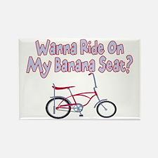 Banana Seat Rectangle Magnet (100 pack)