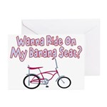 Banana Seat Greeting Cards (Pk of 10)