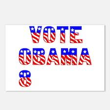 """Vote Obama '08"" Postcards (Package of 8)"