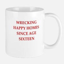 home wrecker Mugs
