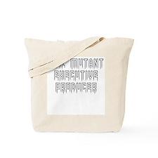 Evil mutant exec producer Tote Bag