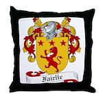 Fairlie Family Crest Throw Pillow