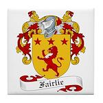 Fairlie Family Crest Tile Coaster