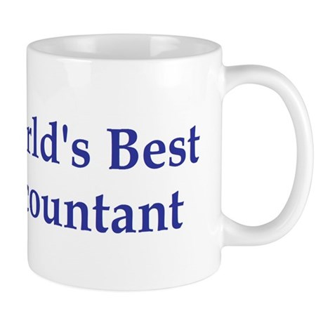 World's Best Accountant Mug