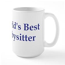 World's Best Babysitter Mug