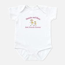 Victoria and Mom - Best Frien Infant Bodysuit