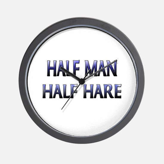Half Man Half Hare Wall Clock