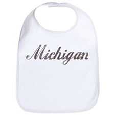 Vintage Michigan Bib