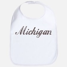 Vintage Michigan Bib