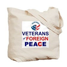Veterans of Foreign Peace Tote Bag
