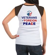 Veterans of Foreign Peace Women's Cap Sleeve T-Shi