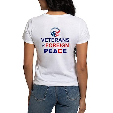 Veterans of Foreign Peace Women's T-Shirt