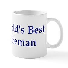 World's Best Fireman Mug