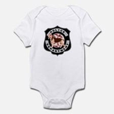 K9 Police Department Infant Bodysuit
